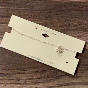 Lauren Conrad | Snowflake Choker Necklace